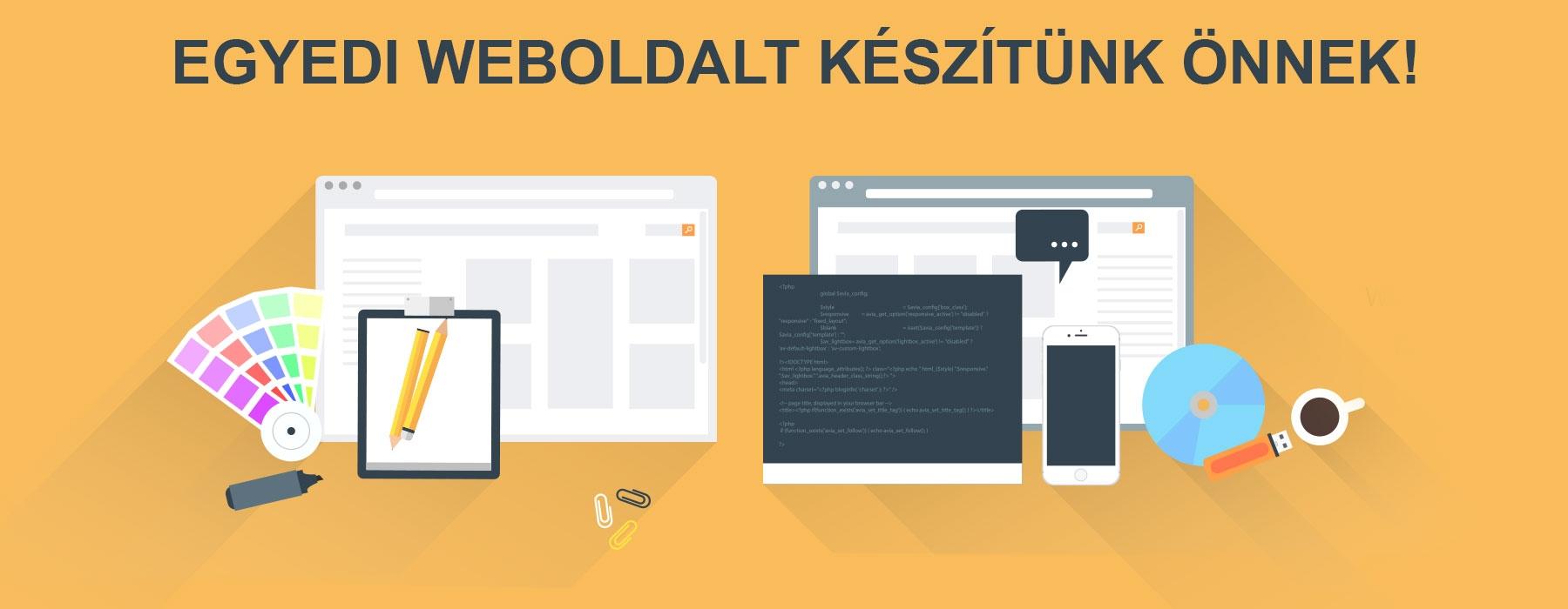 Brief Mit Jelent : Weboldal készítés honlap egyedi